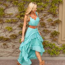 country club ruffle lace dress tiffany from modern vintage