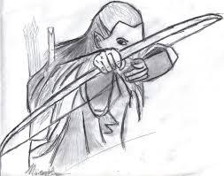 legolas holding bow by ayera on deviantart