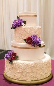 simple wedding cake designs simple scroll piping method with impressive results