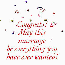 congratulations marriage card what to write in a wedding card