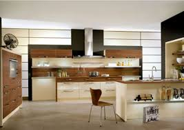modern style kitchen with u shaped kitchen style yellow kitchen