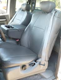Ford F250 Truck Seat Covers - 2001 2007 ford f250 f550 front 40 20 40 split seat with adjustable