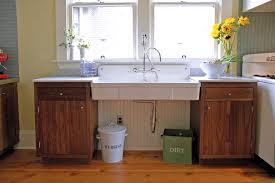 Laundry In Kitchen Kitchen Contemporary With Dark Wood Veneer - Utility sink backsplash