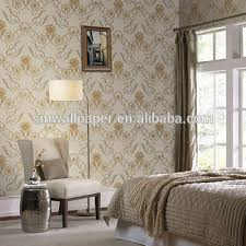 eco friendly and non toxic vinyl embossed wall paper from famous