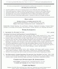 simple resumes exles resume templates experienced accountantat literarywondrous