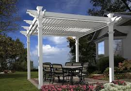 White Vinyl Pergola Kits by Vinyl Pergola Kits Amazon Home Design Ideas