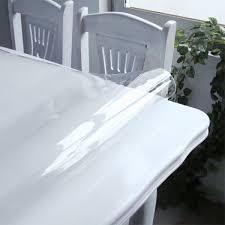 nappe cuisine plastique nappe transparente épaisse en plastique toile cirée au mètre cristal