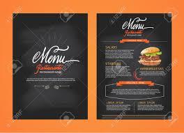 restaurants menu templates free restaurant menu template design food flyer brochure royalty restaurant menu template design food flyer brochure stock vector 43272639
