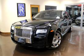 rolls royce merlin used 2013 rolls royce ghost stock p3603c ultra luxury car from