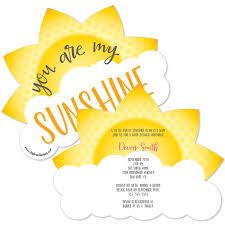 sunshine invitation you are my sunshine baby shower invitations best inspiration