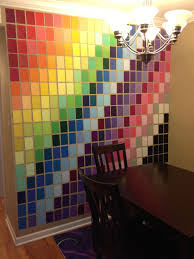 Home Depot Paint Colors Interior Wall Art Made With Paint Samples From Home Depot Art