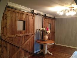 Indoor Sliding Barn Doors by Custom Interior Barn Doors Custom Sliding Barn Doors