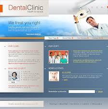 dental clinic website template best website templates