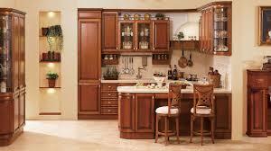 Rustic Themed Bedroom - modular kitchen design beige rustic themed modular kitchen design