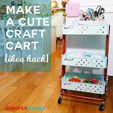 ikea raskog hack ikea raskog cart the best craft organizer jennifer maker