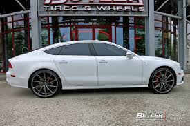 audi a7 rims audi a7 with 22in vossen cvt wheels exclusively from butler tires