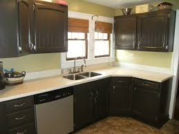 Dark Kitchen Countertops - dark green and grey painting kitchen countertops ideas 2654