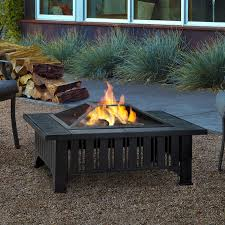wood burning fire table happy wayfair fire pit tables lafayette steel wood burning table