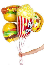 foil balloons popcorn foil balloon 38 candle cake party shop