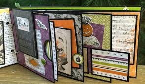 diy scrapbook album artsy albums welcome to fright family memories diy