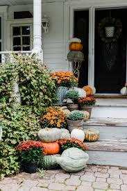farmhouse porches rustic fall farmhouse steps porch stairs fall decor and