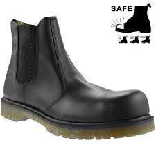 dr martens steel toe 2028 chelsea slip on sb safety boots 10290001