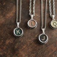 Monogram Key Necklace The 25 Best Typewriter Keys Ideas On Pinterest Modern