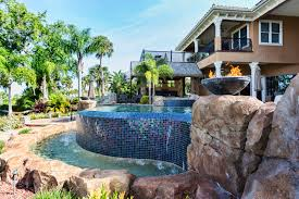 Backyard Swimming Pools by 80 Fabulous Swimming Pools With Waterfalls Pictures