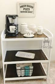 Baby Changing Table Ideas Baby Changing Table Repurposed To A Coffee Bar Way To