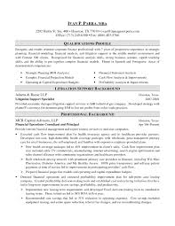 Bank Resume Samples by Sample Investment Banking Resume Free Resume Example And Writing