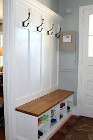 storage coat rack bench entryway storage bench with coat rack