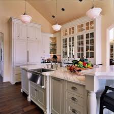 Restoration Hardware Kitchen Lighting Traditional Kitchen With Pendant Light By Tina Barclay Zillow