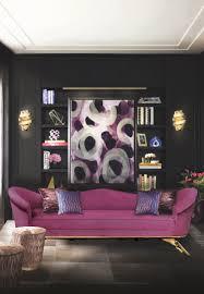 Magenta Home Decor by Black Living Room Ideas To Enhance Your Home Decor
