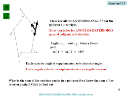 What Is Interior And Exterior Angles 1 Basic Polygon Definitions Interior Angle Sum Theorem Exterior