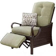Amazoncom  Hanover VENTURAREC Ventura IndoorOutdoor Recliner - Indoor outdoor sofas 2