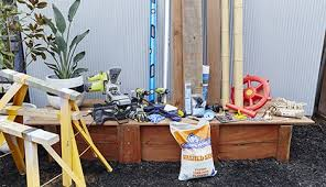 Build A Sandpit In Your Backyard How To Build A D I Y Pirate Ship Sandpit Bunnings Warehouse