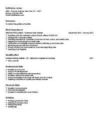 sle cashier resume cashier exle resume exles of resumes