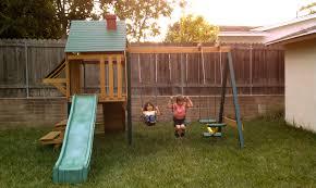 diy backyard playground live laugh learn
