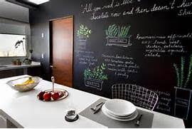 wandtafel küche tafel küche schwarze tafel foto linnea press brogsmidt tafel