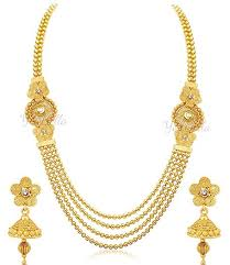 girls gold necklace images Buy youbella jewellery diwali gift fashion party wear gold plated jpg