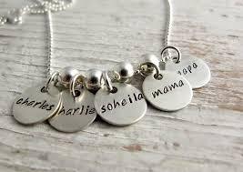 grandmother necklace sted grandmother necklace family charms grandkids names