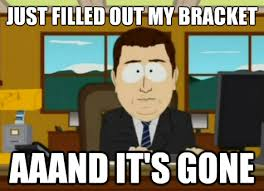 Meaningful Memes Stick Figure Madness - buzzer beaters and upsets how march madness is changing