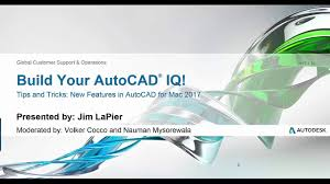 Autocad Home Design For Mac Webinar New Features In Autocad For Mac 2017 Autocad Youtube