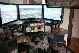 Flight Sim Desk Missing Plane Mh370 Flight Simulator Records Were Removed A Month