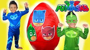 egg halloween costumes pj masks giant egg surprise toys disney kids catboy costume gekko