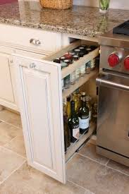 Storage Cabinet For Kitchen 25 Best Spice Cabinets Ideas On Pinterest Pull Out Spice Rack