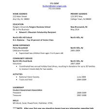 high resume exles for college applications job resume exles for college students sle resumes for high