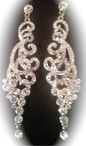 gunmetal chandelier earrings 21 best wedding earrings images on pinterest wedding earrings