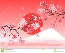 Peinture Cerisier Japonais by Fuji Stock Illustrations Vecteurs U0026 Clipart U2013 2 055 Stock