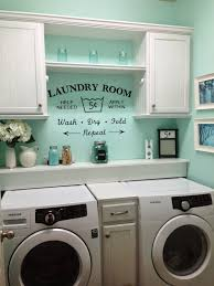 Laundry Room Decorations Rustic Shabby Chic Laundry Room Vintage Vinyl Decal Small Laundry
